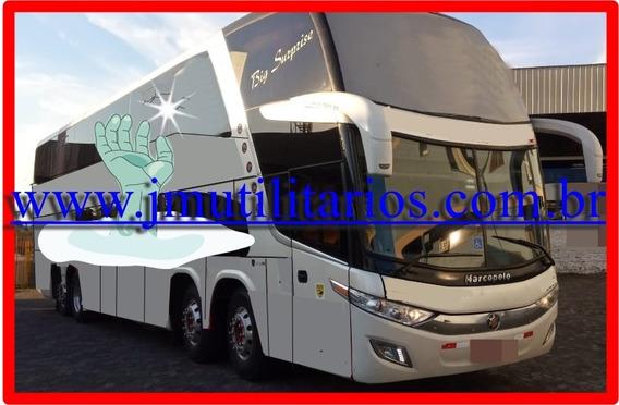 Paradiso Dd 1800 G7 Ano 2014 Scania K440 54l Ar Wc Jm Cod.28