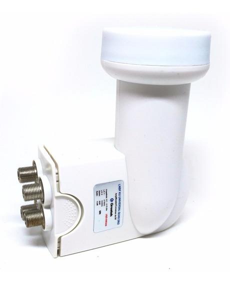Lnb Lnbf Universal Quad Dro Amplificador Conversor De Rf