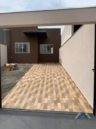 Imagem 1 de 23 de Casa À Venda, 56 M² Por R$ 185.000,00 - Jardim Santo André - Londrina/pr - Ca1394