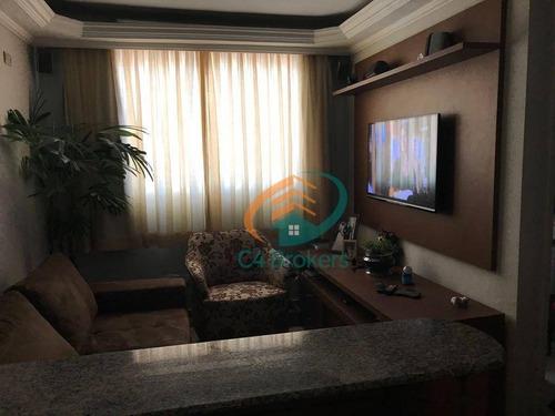 Apartamento Com 2 Dormitórios À Venda, 60 M² Por R$ 325.000,00 - Vila Esperança - São Paulo/sp - Ap3867