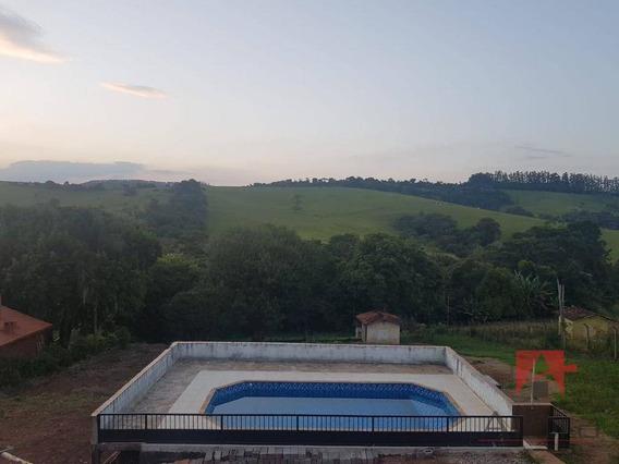 Chácara Com 3 Dormitórios À Venda, 5000 M² Por R$ 480.000 - Barreiro - Bragança Paulista/sp - Ch0184