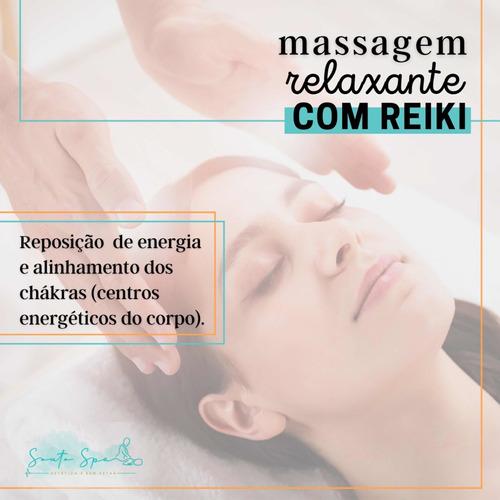 Massagem Relaxante Com Reiki