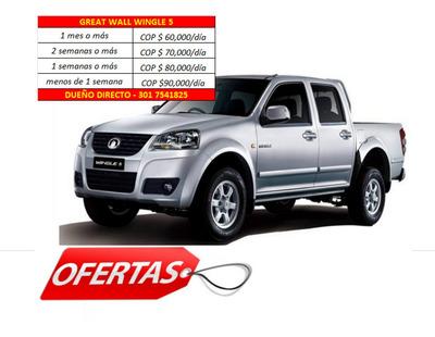 Alquiler Renta De Camioneta Barranquilla 60mil Dia