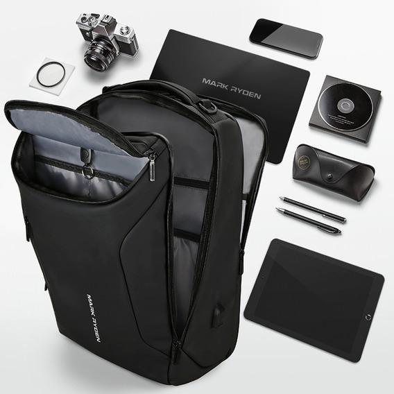 Mochila Escolar Mark Ryden Premium Usb Laptop Negocios