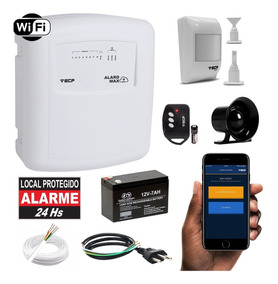 Kit Alarme Casa Comercial Wifi Internet App iPhone E Android