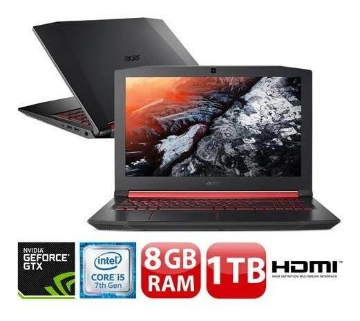 Notebook Acer Gamer Nitro 15,6 Led An515-51-50u2 / I5-7300hq