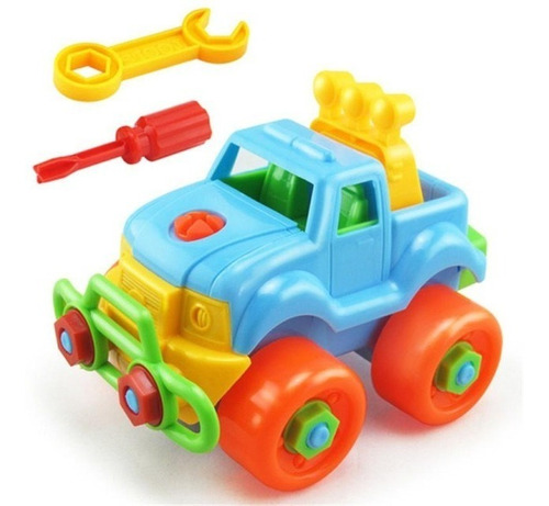 Carro De Juguete Ensamblar Armar Bebes Niños