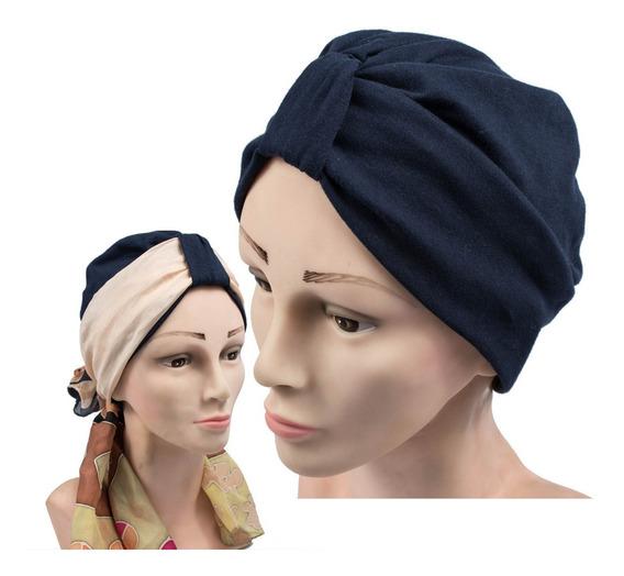 Turbantes Oncológicos Clasico De Algodon Dhalia