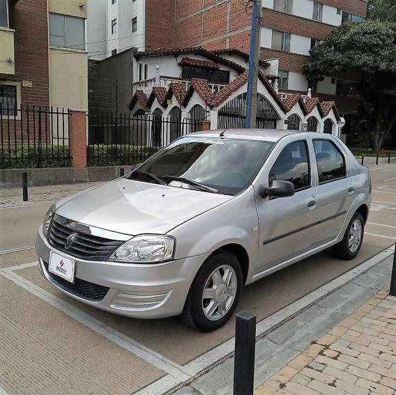 Renault Logan Expression 1.6 /2013 Gris Estrella Sedan Rines