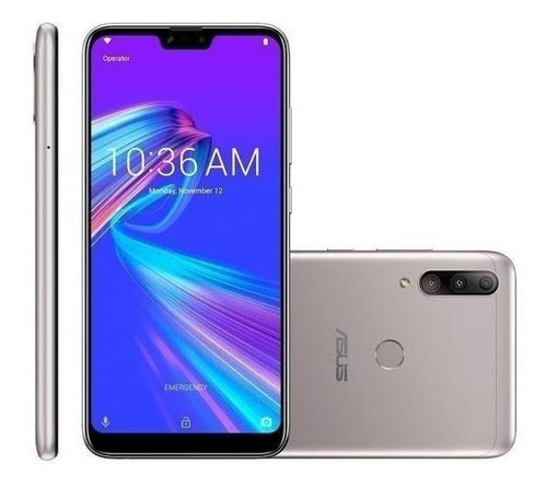 Asus ZenFone Shot Plus ZB634KL Dual SIM 64 GB prata 4 GB RAM