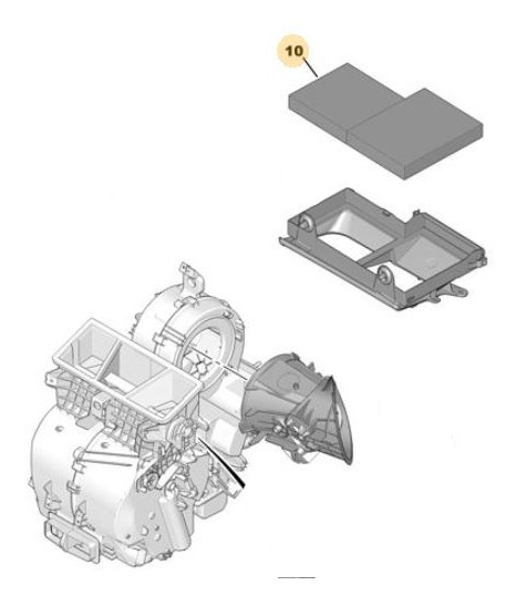 Filtro Polen Habitáculo Peugeot 208 1.6 Thp 200cv