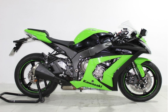 Kawasaki Ninja Zx 10r 2012 Verde