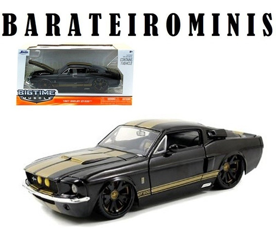 1:24 Shelby Gt 500 1967 Jada - Bigtime Muscle Barateirominis