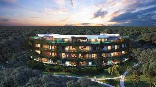 Penthouse En Venta Threebedroom, Aldea Zama Tulum Serenity