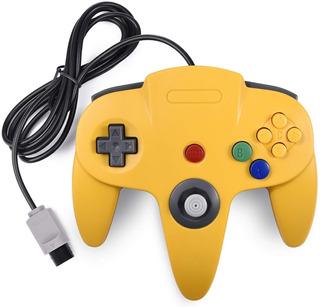 Control Para Nintendo 64 N64 Nuevo Amarillo Teknogame
