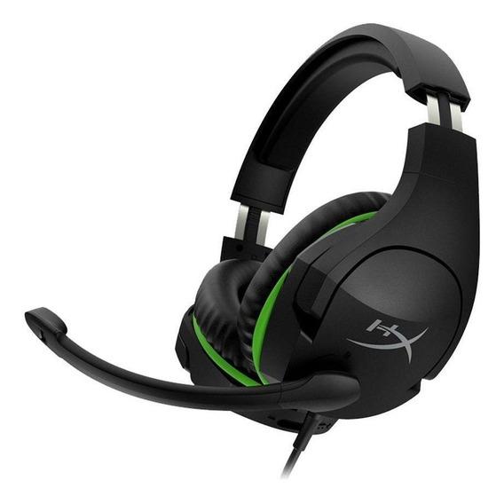 Headset Gamer Hyperx Cloudx Stinger Preto E Verde Xbox One