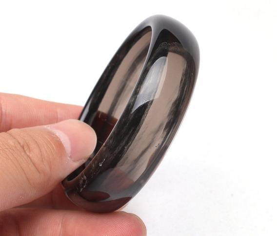 Pulsera Obsidiana Brazalete Cuarzo Sanación Reiki Amuleto