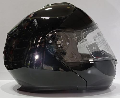 Casco Moto Givi X21 Certificado Abatible Doble Visor Brillo