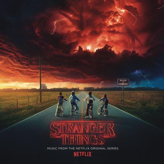 Stranger Things Vinilo Doble Nuevo Import + Poster + Sticker