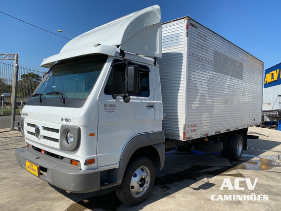 Vw 9150 Delivery 2011 Baú 5,50 Mts
