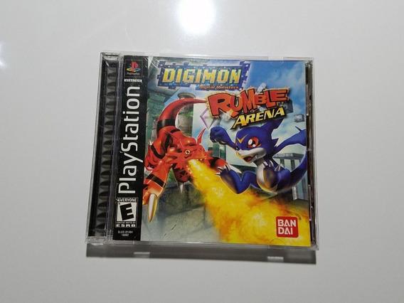 Ps1 - Digimon Rumble Arena - Original
