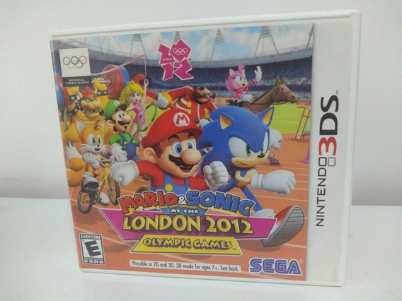 Jogo Mario & Sonic Até The London 2012 Olympic Games 3ds