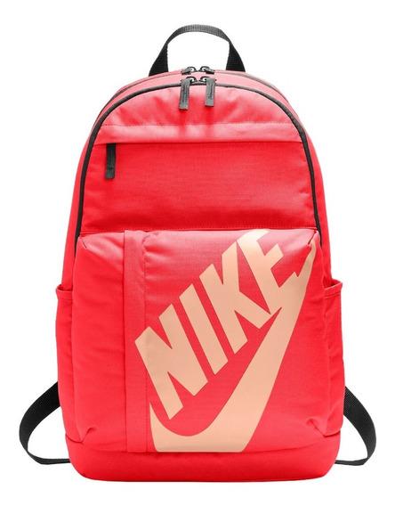 Mochila Nike Sportswear Elemental Rosa Coral/ Creme Original