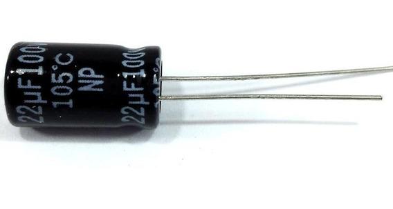 Capacitor Bipolar 22x100 - 22uf 100v Driver Corneta 100 Unid