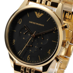 Relógio Masculino Armani Ar1893 Classic Gold Stainless