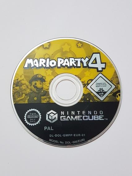 Mario Party 4 Europeu Original Para Nintendo Game Cube