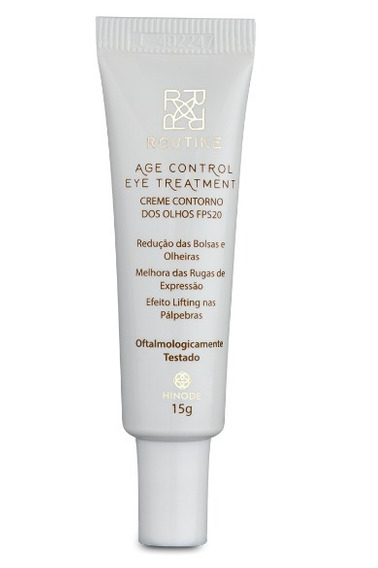 Age Control Eye Treatment Creme Contorno Olhos Fps20 Hinode