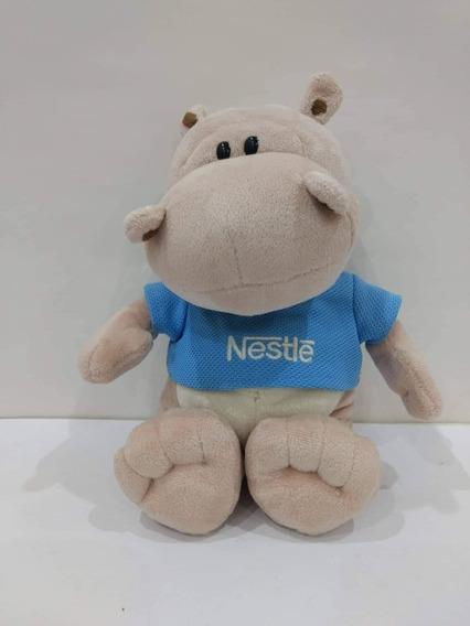 Pelúcias Filhotes Nestlé - Galera Animal 2010 - Hipopótamo
