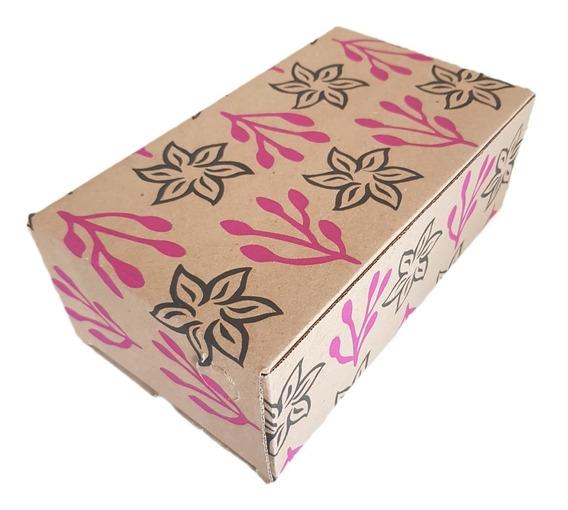 100 Caixas Papelão 27x15x09 Cm Caixinha Sapato Montável K009