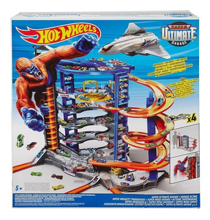 Pista Hot Wheels Super Ultimate Garage Mattel Gigante Gorila