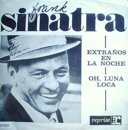 Frank Sinatra Extraños En La Noche Simple C/ Tapa