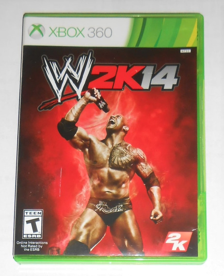 Wwe 2k14 Original Completo Xbox 360 Cr $15
