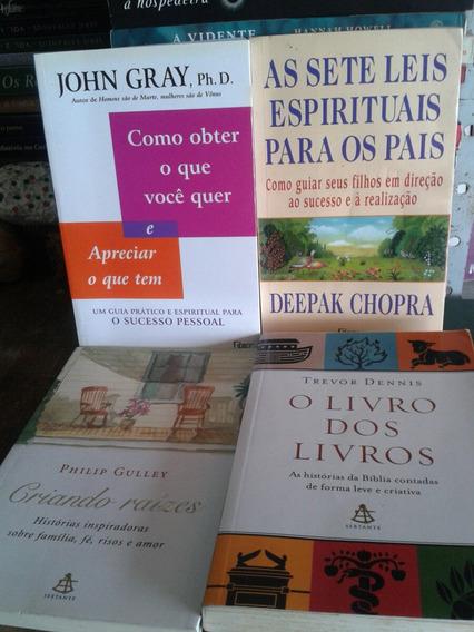 4 Livros Com Essência Espiritual Na Auto Ajuda