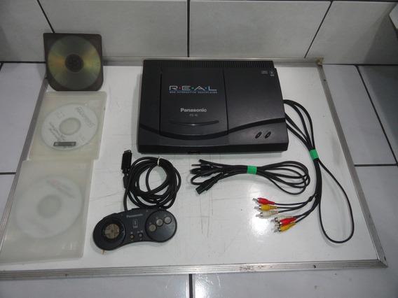 3do Fz10 Panasonic Console Conservado Só Ligar E Jogar C03