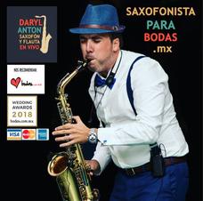 Saxofonista Moderno Para Bodas Y Eventos En Mexico