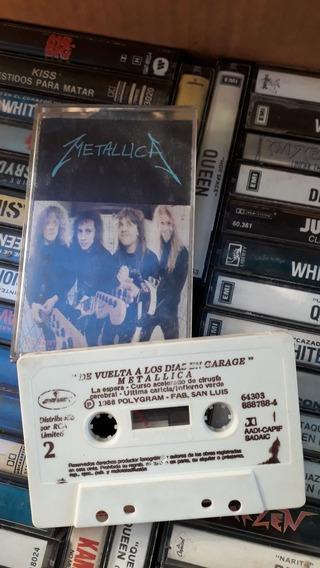 Metallica De Vuelta A Los Dias De Garage Cassette