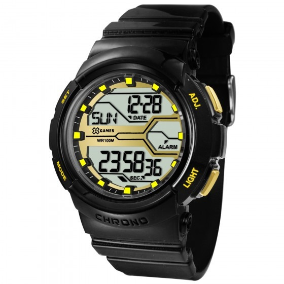Relógio X Games Unissex Xfppd046 Bxpx Preto - Refinado