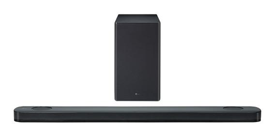 Soundbar Lg Sk9 500 W Rms + Caixas Traseiras Surround Spk8 !