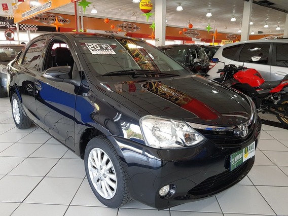 Toyota Etios Sedan 2015 1.5 Flex