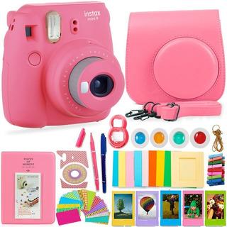 Cámara Fujifilm Instax Mini9 Foto Selfie Portátil Accesorios