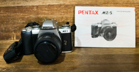 Câmera Fotográfica Pentax Mz-5 + Lente 38-80 Leia O Anuncio