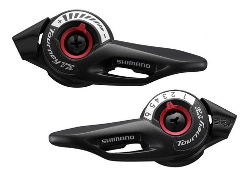 Manijas Cambio Bicicleta Shimano Sl-tz500 21 Vel - Racer
