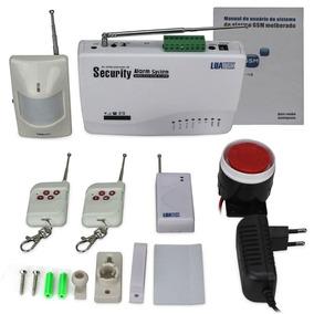 Kit De Alarme Residencial Luatek Gsm Sistema Wireless Sms