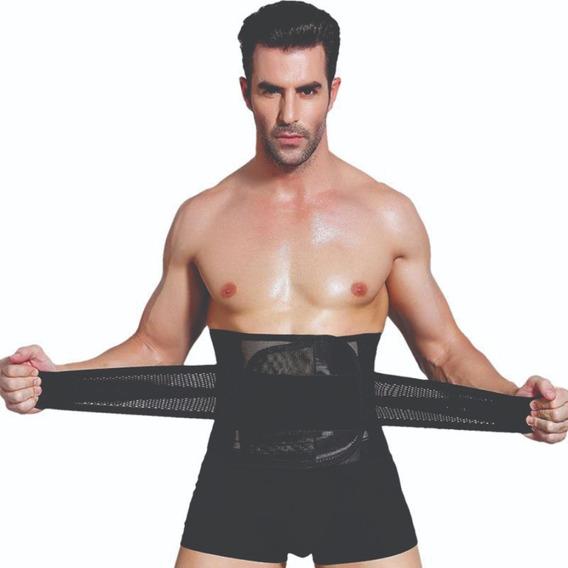 Cinta Abdominal Modeladora Masculina Ajustável Body Legionar