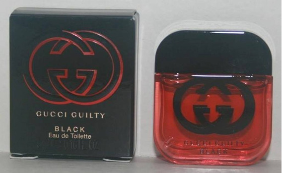 Miniatura De Perfume: Gucci Guilty Black - 5 Ml - Edt