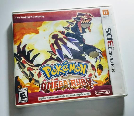 Pokemon Omega Ruby - Nintendo 3ds - Usado / Impecavel !!!